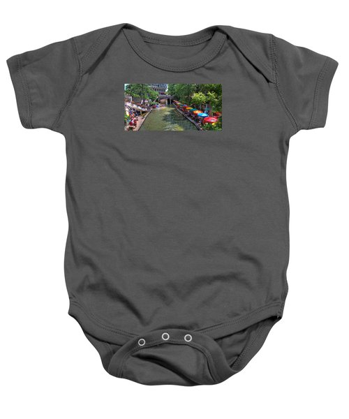 San Antonio Riverwalk Baby Onesie