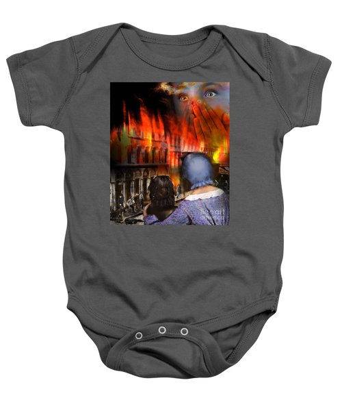 San Francisco Fire Baby Onesie