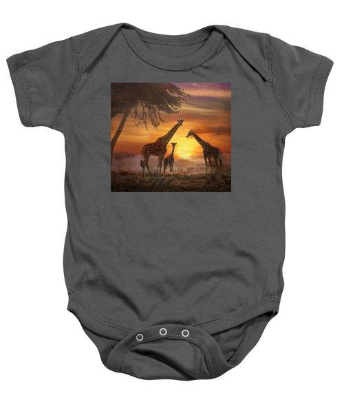 Savanna Sunset Baby Onesie