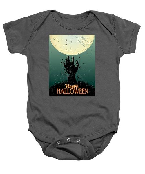 Scary Halloween Baby Onesie