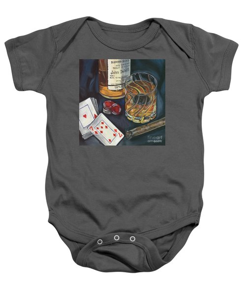 Scotch And Cigars 4 Baby Onesie