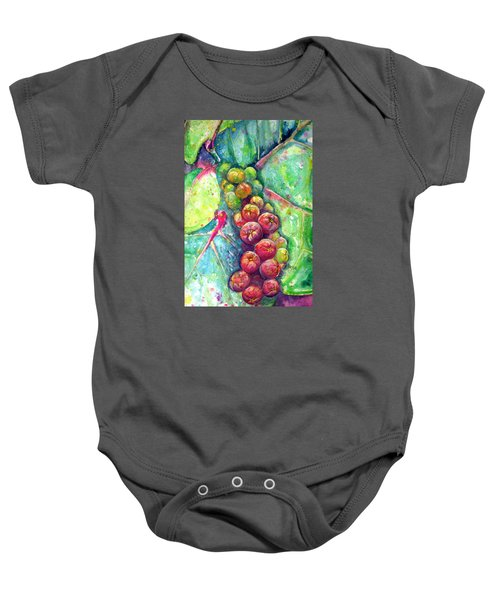Seagrapes Baby Onesie