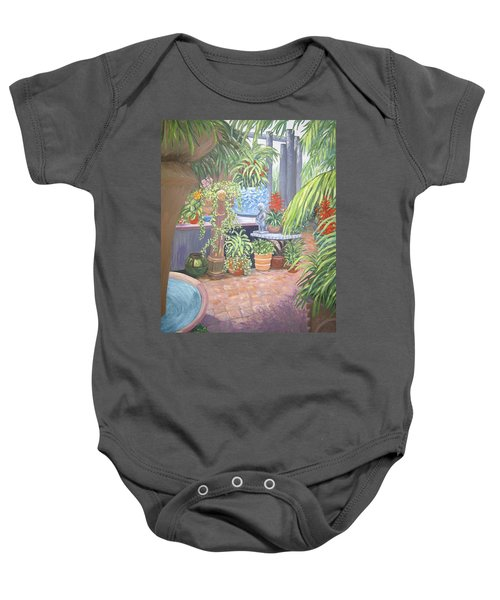 Secret Garden Baby Onesie