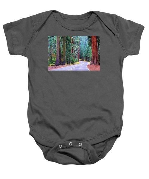 Sequoia Hwy Baby Onesie