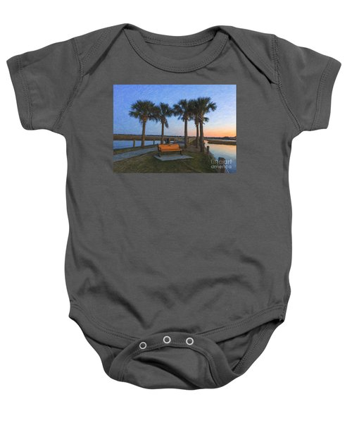 Set A Spell And Dream Baby Onesie