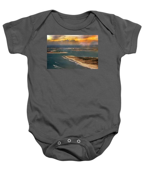 Shackleford Banks Fort Macon North Carolina Baby Onesie