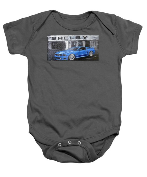 Shelby Mustang Baby Onesie