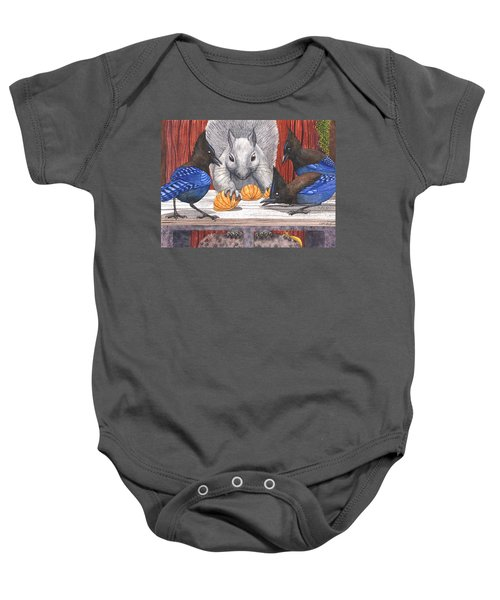 Shell Game Baby Onesie