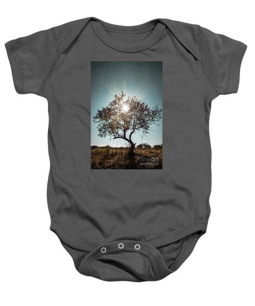 Single Tree Baby Onesie