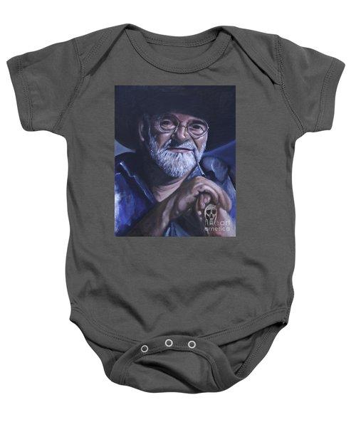 Sir Terry Pratchett Baby Onesie