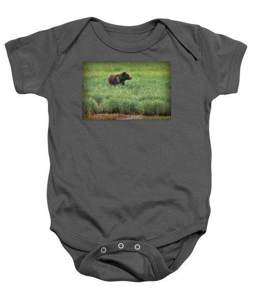 Sitka Grizzly Baby Onesie