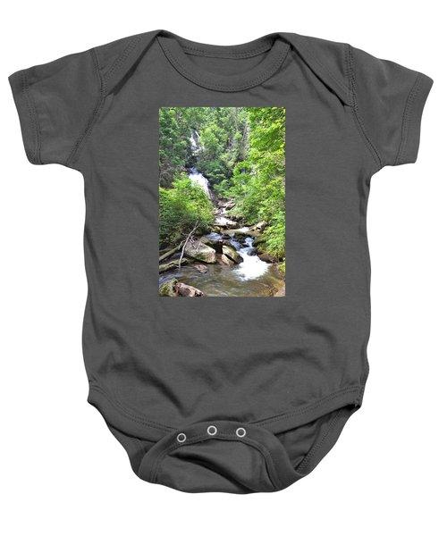 Smith Creek Downstream Of Anna Ruby Falls - 3 Baby Onesie