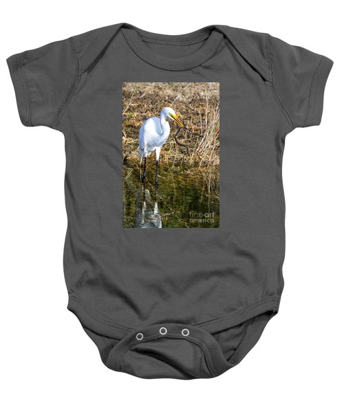 Snake For Lunch Baby Onesie
