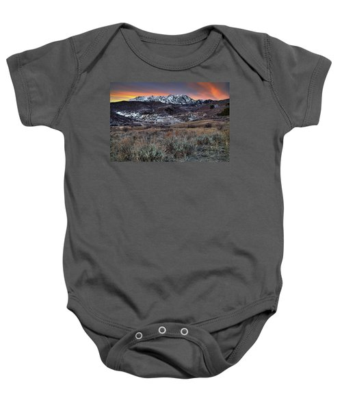 Snowbasin Fire And Ice Baby Onesie