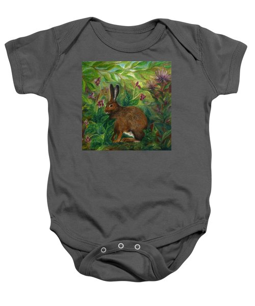 Snowshoe Hare Baby Onesie