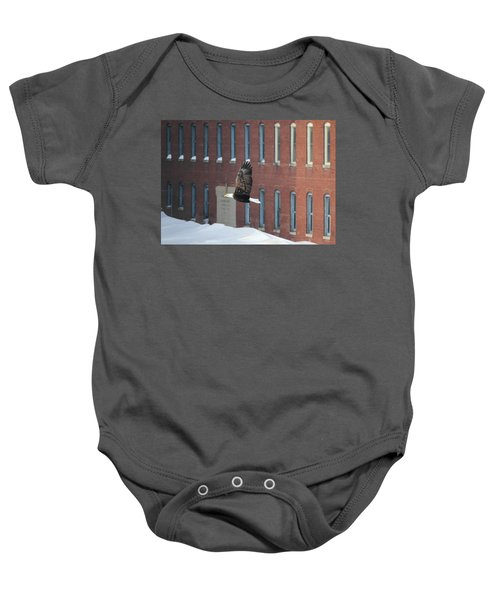 Soaring To Greatness Baby Onesie