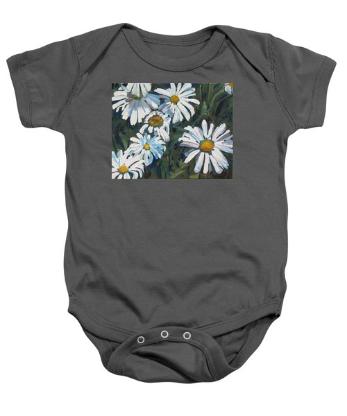 Some Are Daisies Baby Onesie