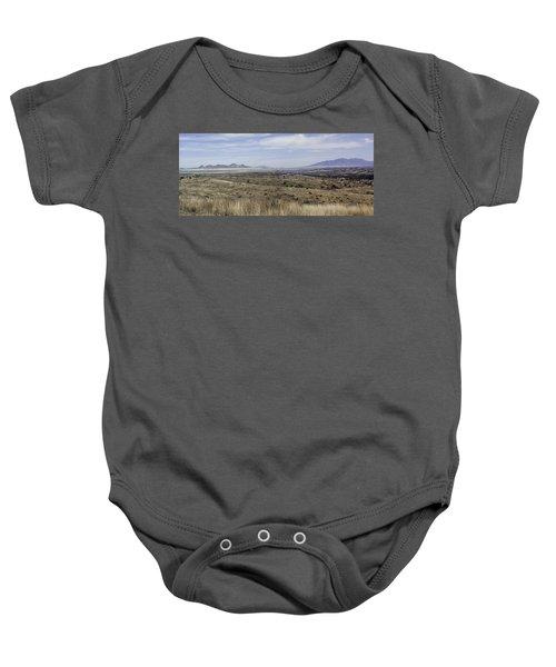 Sonoita Arizona Baby Onesie by Lynn Geoffroy