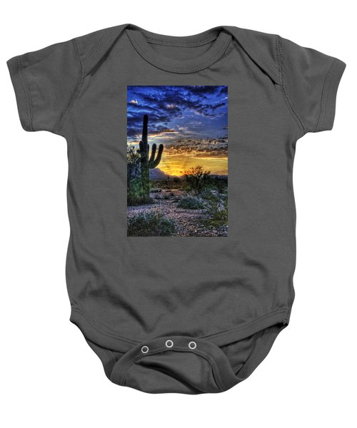 Sonoran Sunrise  Baby Onesie