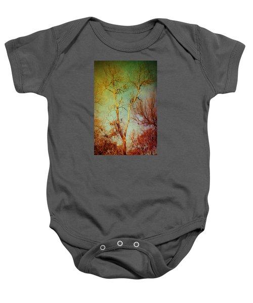 Souls Of Trees Baby Onesie