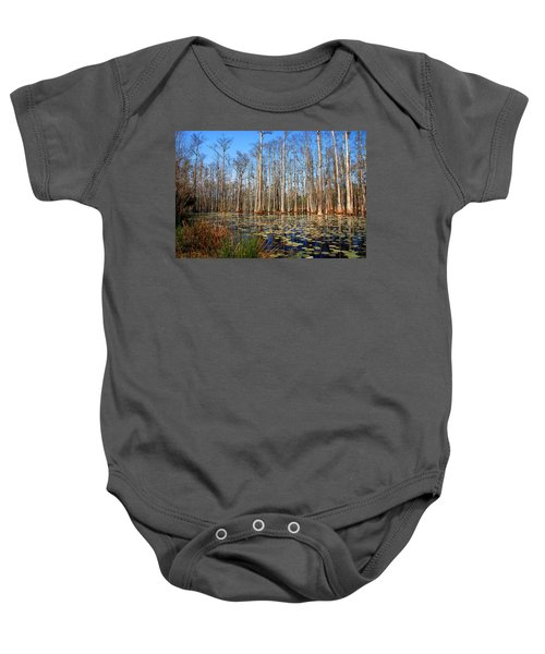 South Carolina Swamps Baby Onesie