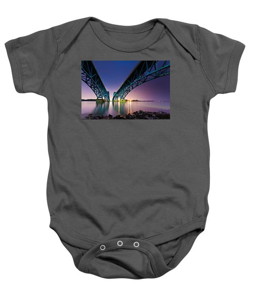 South Grand Island Bridge Baby Onesie