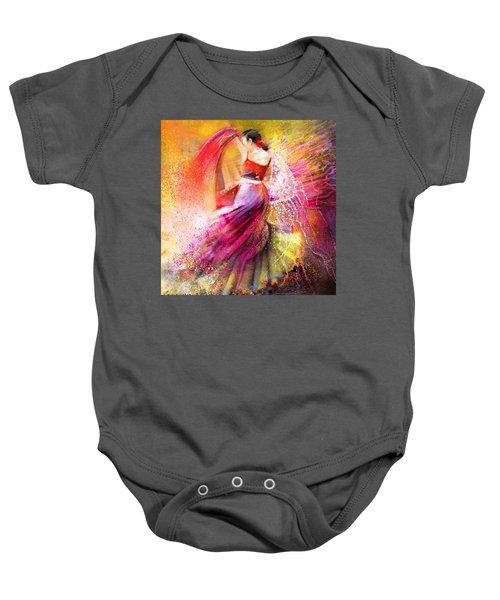 Spain - Flamencoscape 12 Baby Onesie