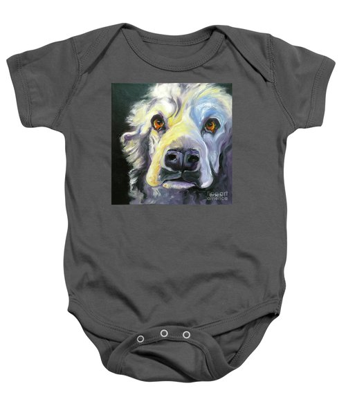 Spaniel In Thought Baby Onesie