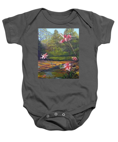 Spring Blooms On The Natchez Trace Baby Onesie