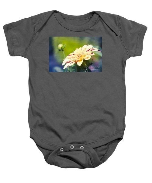 Spring Dream Jewel Tones Baby Onesie