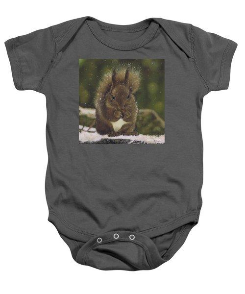 Squirrel Nutkin Baby Onesie