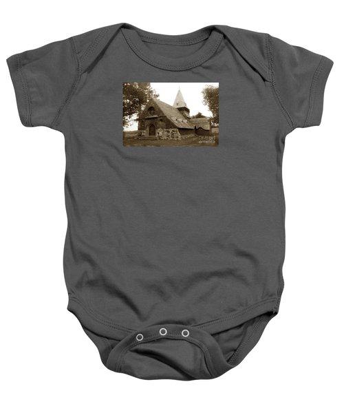 St. Johns Chapel Del Monte Monterey California 1895 Baby Onesie