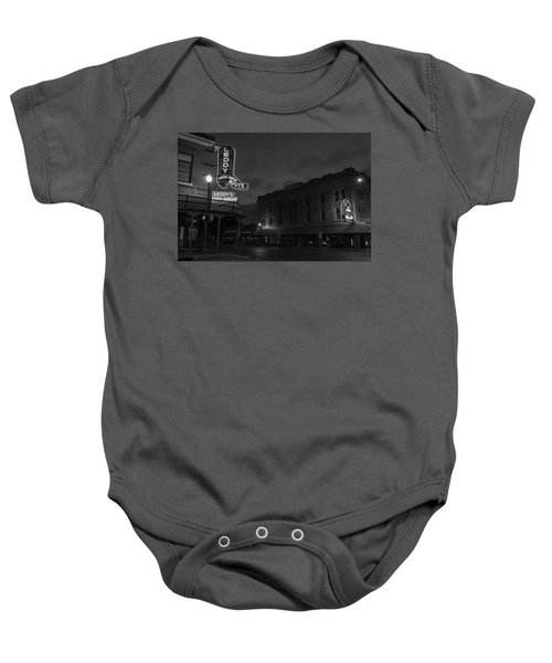 Stockyards Main And Exchange Bw Baby Onesie