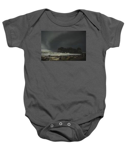 Storm Is Coming North West Wa Baby Onesie