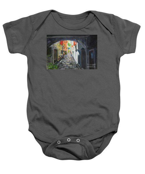 Street View 2 From Pula Baby Onesie