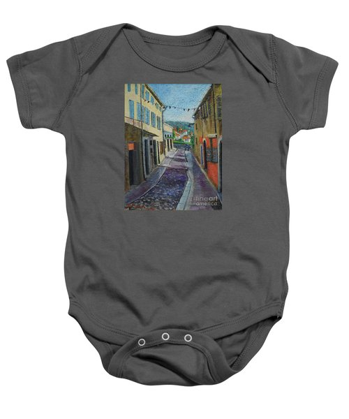 Street View From Provence Baby Onesie