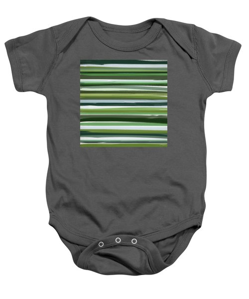 Summer Of Green Baby Onesie by Lourry Legarde