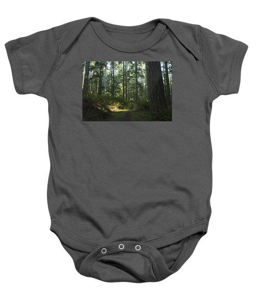Summer Pacific Northwest Forest Baby Onesie