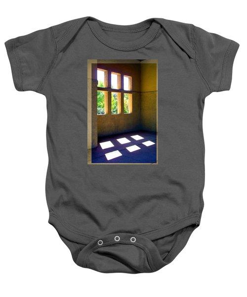 Sun Thru Windows Adobe Architecture Baby Onesie