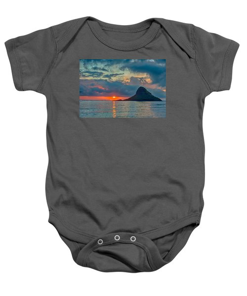 Sunrise At Kualoa Park Baby Onesie