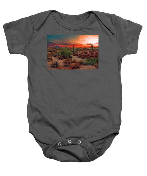 Sunrise Cocktail Baby Onesie