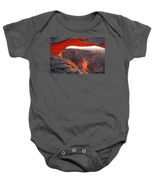 Sunrise Mesa Arch Canyonlands National Park Baby Onesie