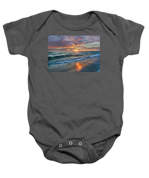 Sunset Gulf Islands National Seashore Baby Onesie