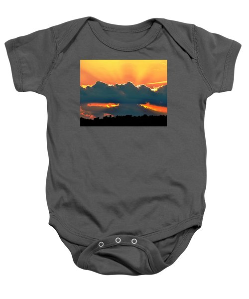 Sunset Over Southern Ohio Baby Onesie