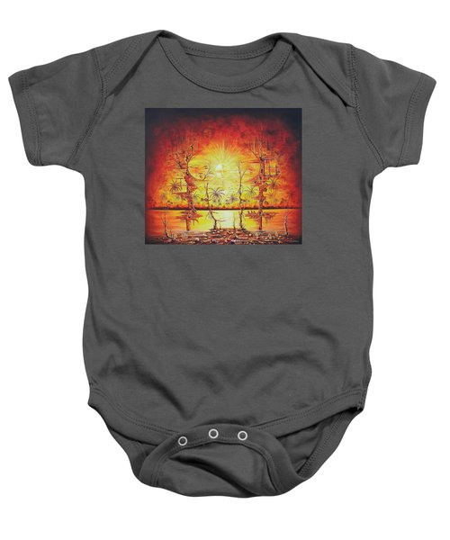 Sunshine On My Mind Baby Onesie