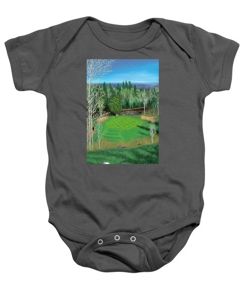 Superior National Golf Canyon 8 Baby Onesie