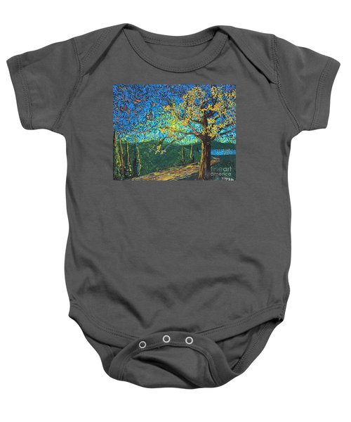 Swing By The Road Baby Onesie