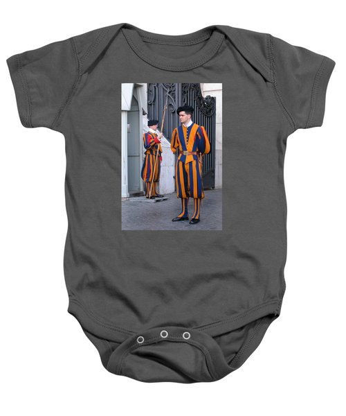 Swiss Guard Baby Onesie