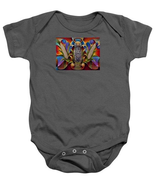 Tapestry Of Gods - Chicomecoatl Baby Onesie