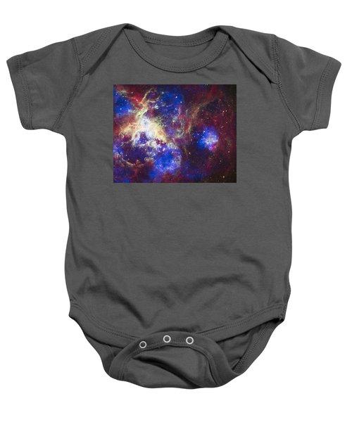 Tarantula Nebula Baby Onesie